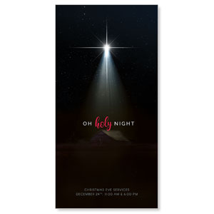"Oh Holy Night 11"" x 5.5"" Oversized Postcards"