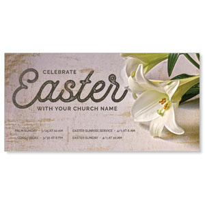 Easter Lilies Church Postcards