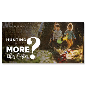 Hunting This Easter XLarge Postcards