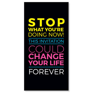 Could Change Your Life XLarge Postcards