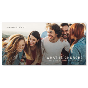 What Is Church XLarge Postcards