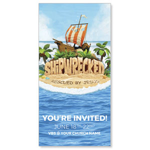 Shipwrecked XLarge Postcards