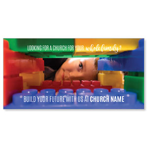 "Build Future 11"" x 5.5"" Oversized Postcards"