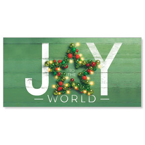 "Joy Star 11"" x 5.5"" Oversized Postcards"