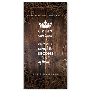 "A King's Love 11"" x 5.5"" Oversized Postcards"