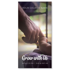 Grow With Us Church Postcards
