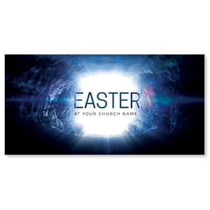 "Easter Tomb 11"" x 5.5"" Oversized Postcards"