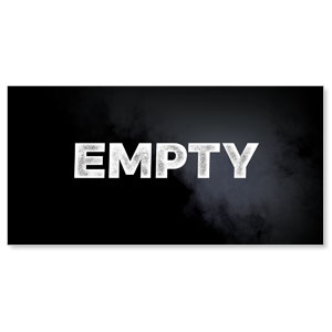 "Empty 11"" x 5.5"" Oversized Postcards"
