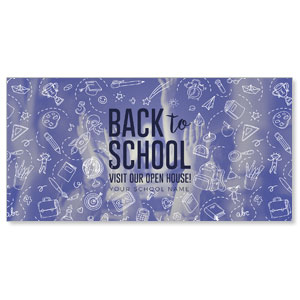 "Back to School 11"" x 5.5"" Oversized Postcards"