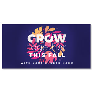 "Grow Together Fall 11"" x 5.5"" Oversized Postcards"