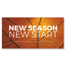 Season Start Orange Leaf