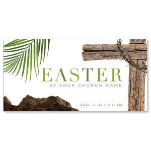 "Easter Week Icons 11"" x 5.5"" Oversized Postcards"