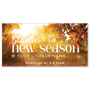 "New Season Flare 11"" x 5.5"" Oversized Postcards"