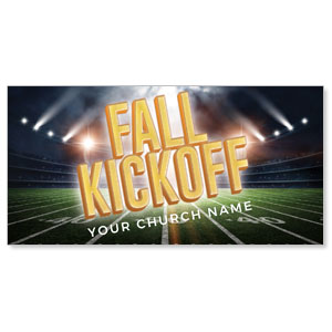 "Fall Kickoff Stadium 11"" x 5.5"" Oversized Postcards"