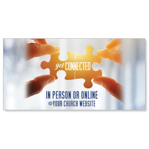 "Connected 11"" x 5.5"" Oversized Postcards"
