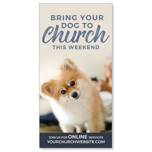 "Dog This Weekend 11"" x 5.5"" Oversized Postcards"
