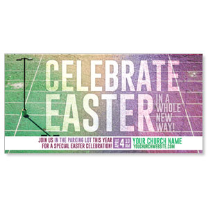 "Easter New Way 11"" x 5.5"" Oversized Postcards"