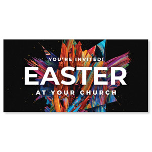 "CMU Easter Invite 2021 11"" x 5.5"" Oversized Postcards"