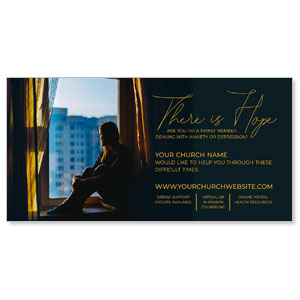 "There Is Hope 11"" x 5.5"" Oversized Postcards"