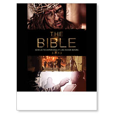 The Bible 30-Day Experience Poster