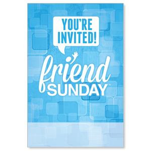 Friend Sunday Posters