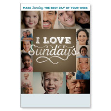 I Love Sundays Poster