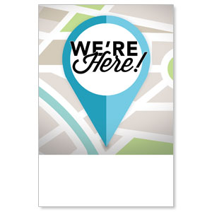 We Are Here Poster 12 x 18 Posters