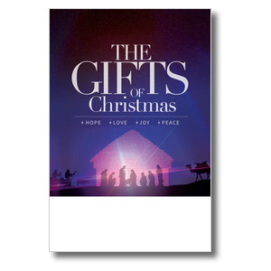 The Gifts of Christmas Advent Posters