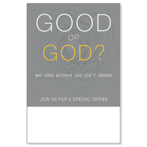 Good or God? Posters