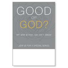 Good or God? Poster