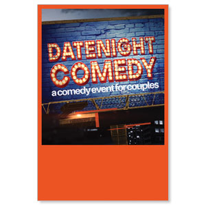 Date Night Comedy Posters