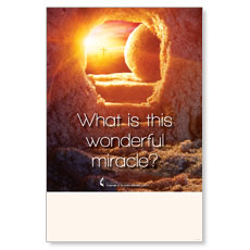 UMC Easter Wonderful Miracle Poster