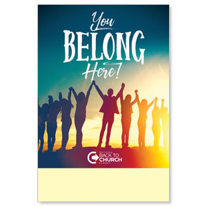 BTCS You Belong Here Posters