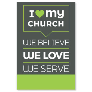 ILMC Believe Love Serve Posters