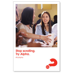 Alpha Stop Scrolling Posters