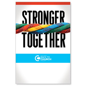 BTCS Stronger Together Posters