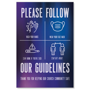 Aurora Lights Guidelines Posters