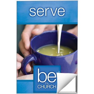 Be The Church Serve Wall Art