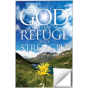 Refuge and Strength Wall Art