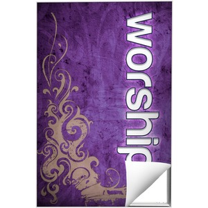 Adornment Worship Wall Art