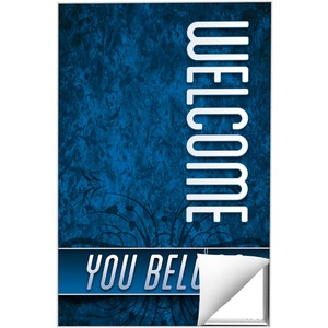 You Belong Welcome Wall Art