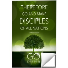 Deeper Roots Matt 28:19 Wall Art
