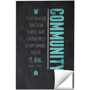 Slate Community Wall Art