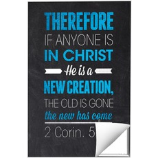 Slate 2 Cor 5:17 Wall Art