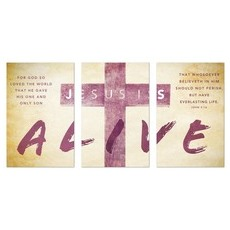Alive Triptych Wall Art