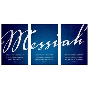Messiah Triptych 24 x 36 Quick Change Art