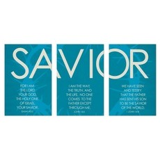 Savior Triptych Wall Art