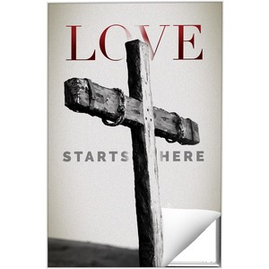 Love Starts Here Wall Art