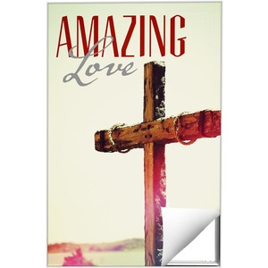 Amazing Love Cross 24 x 36 Quick Change Art