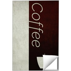 Color Block Coffee Wall Art